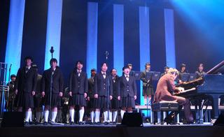 小林さんと日川高校吹奏楽部の共演.JPG